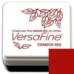 Tsukineko  - Versafine Pigment Small Ink Pad - Crimson Red