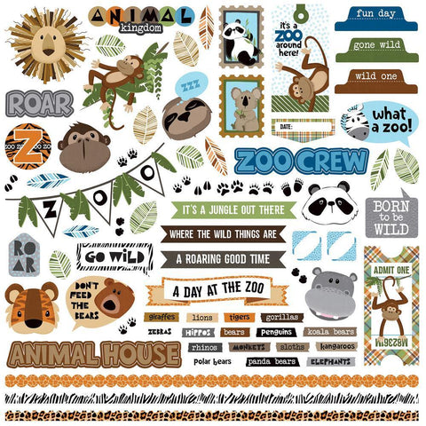 PhotoPlay - We Bought A Zoo Stickers 12x12 inch Element
