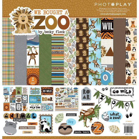 PhotoPlay Collection Pack 12x12 inch - We Bought A Zoo