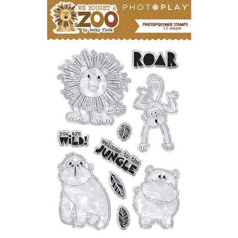 PhotoPlay Photopolymer Stamp - We Bought A Zoo