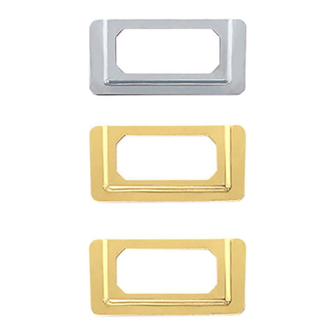 We R Memory Keepers LabelIT .75 inch Bookplates 4 pack - Gold