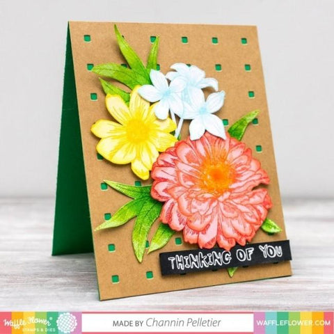 Waffle Flower Crafts - Texture Dies - Micro Grid Panel 2