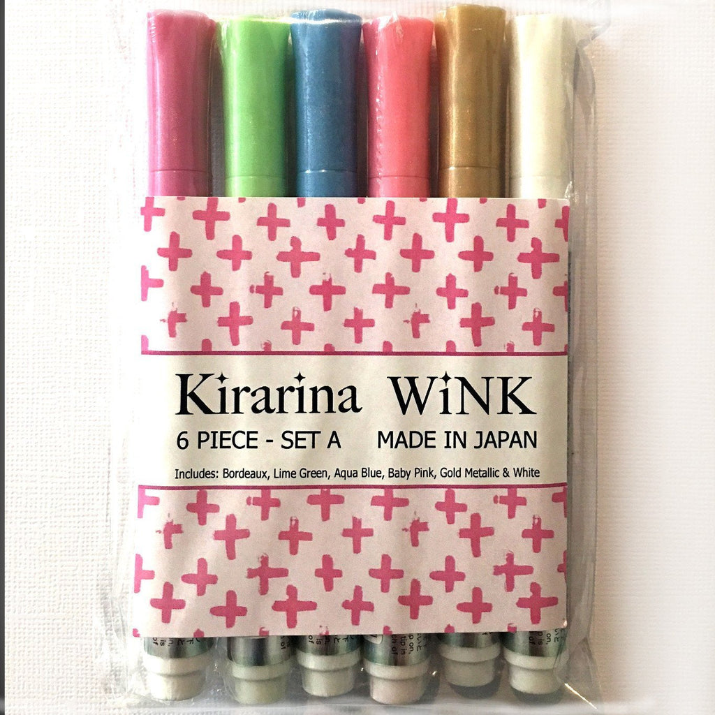 Copic - Kirarina WiNK Marker 6 pack - SET A