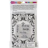 Stampendous Windowrama Card Kit - Wedding