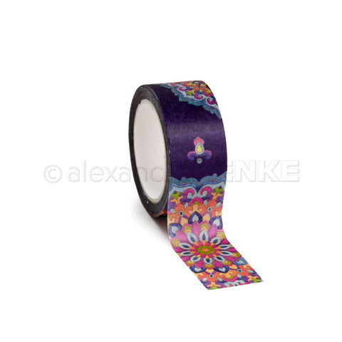 Alexandra Renke - Washi Tape 30mmX10m - Dark Blue Mandala, Ornamentic 2