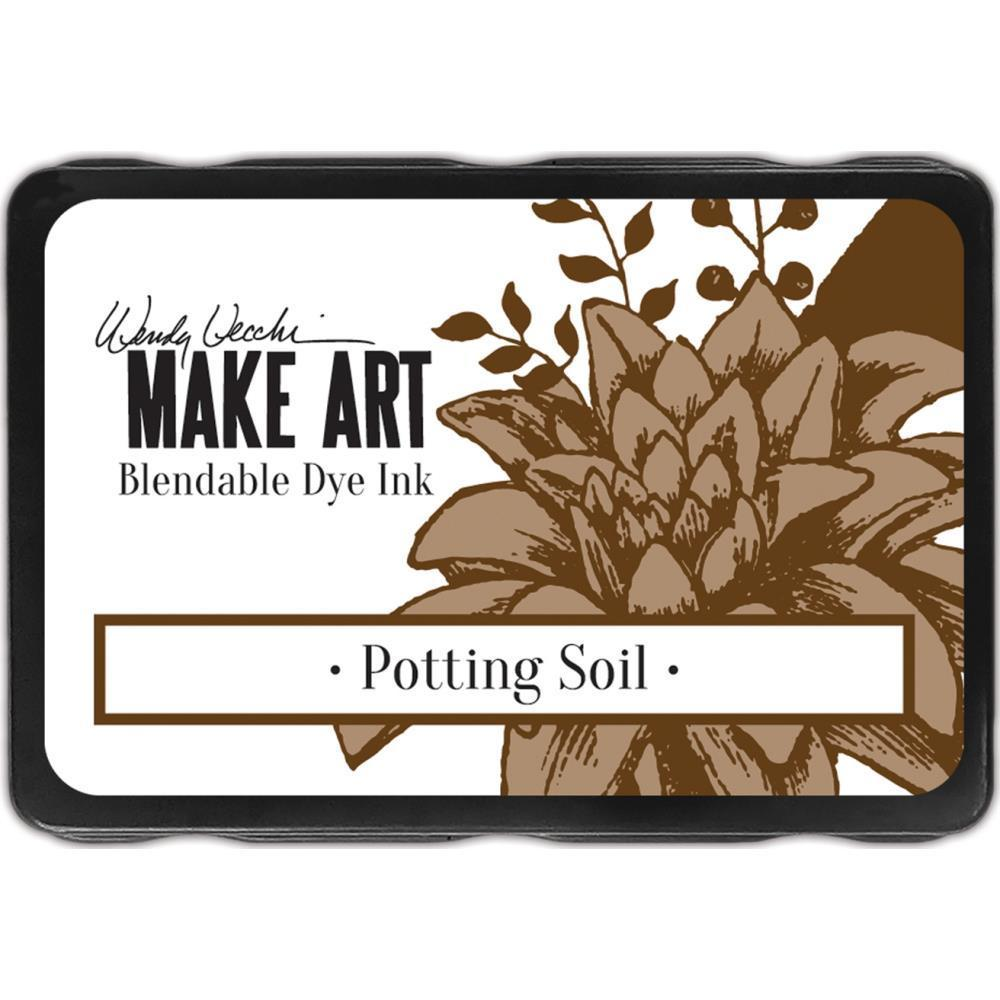 Wendy Vecchi Make Art Dye Ink Pads - Potting Soil