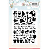 Find It Trading Yvonne Creations Clear Stamps - Welcome Baby