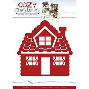 Find It Trading Yvonne Creations Cozy Christmas Die Gingerbread House