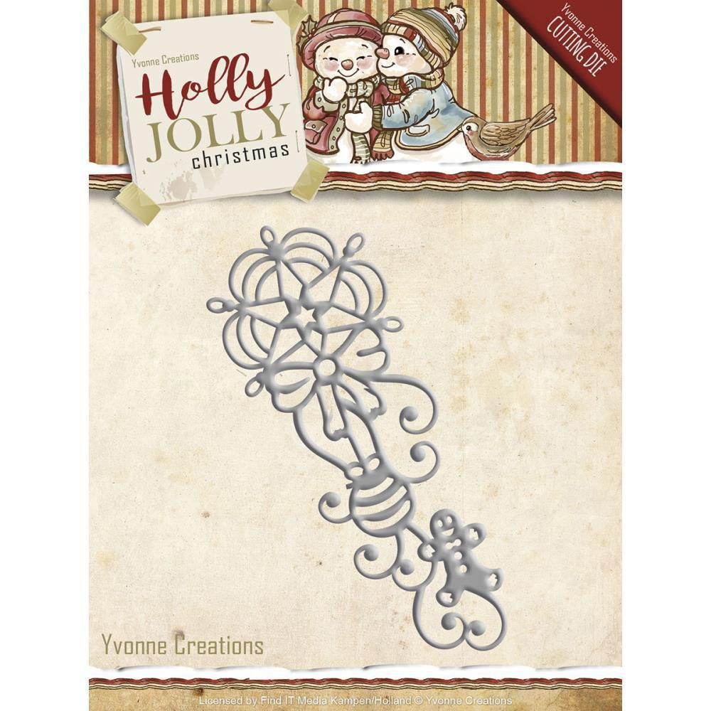Find It Trading Yvonne Creations Holly Jolly Die Ornament