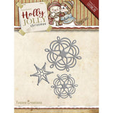 Find It Trading Yvonne Creations Holly Jolly Die Snowflake & Star