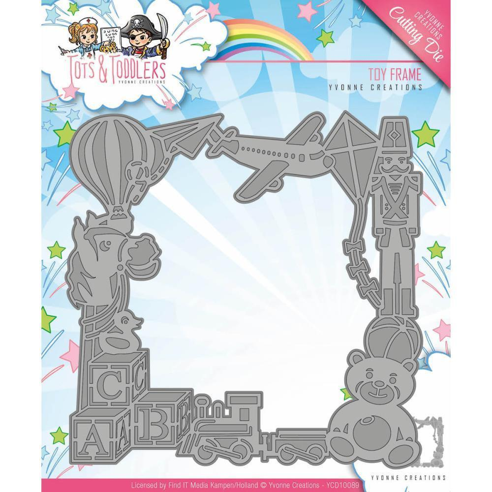 Find It Trading Yvonne Creations Tots & Toddlers Die - Toy Frame