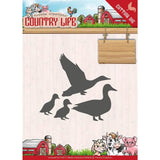 Find It Yvonne Creations Country Life Die - Ducks