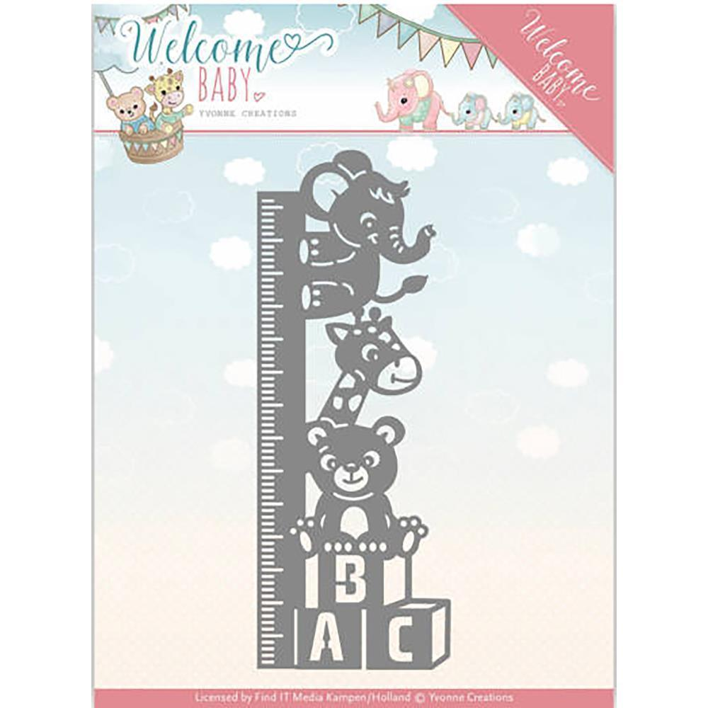 Find It Trading Yvonne Creations Die - Welcome Baby Growth Chart