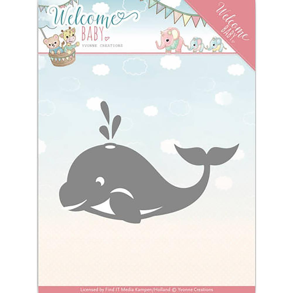 Find It Trading Yvonne Creations Die - Welcome Baby - Little Orca
