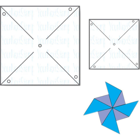 Your Next Stamp Die - Pinwheel