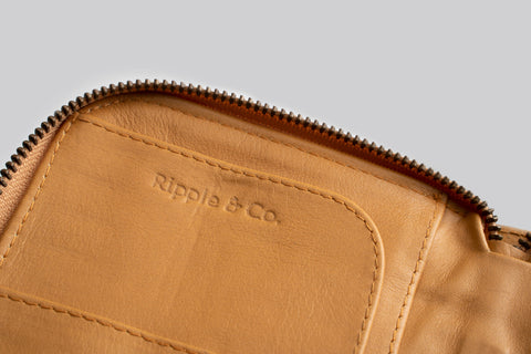 Jo Wallet (Light Tan)