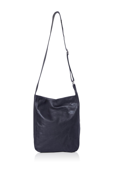 Ripple and Co Leather Cross Shoulder Jude Bag Black