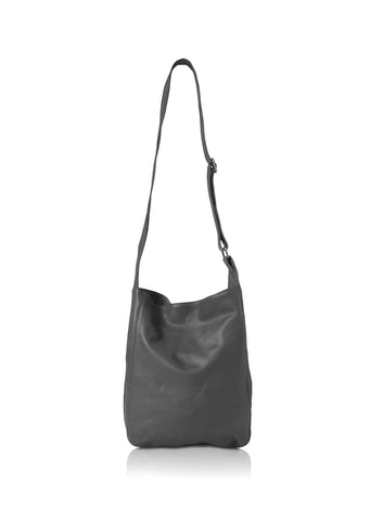Ripple and Co Leather Cross Shoulder Jude Bag Elephant Grey