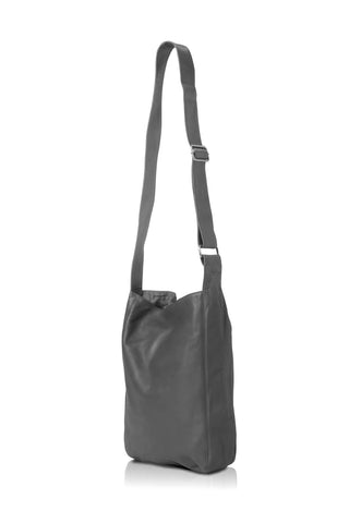 Ripple and Co Leather Cross Shoulder Bag Elephant Grey