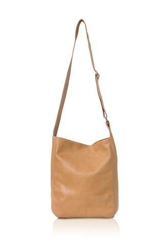 Ripple and Co Leather Cross Shoulder Bag Tan