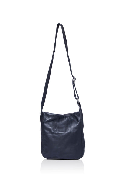 Ripple and Co Leather Cross Shoulder Jude Petite Bag Black