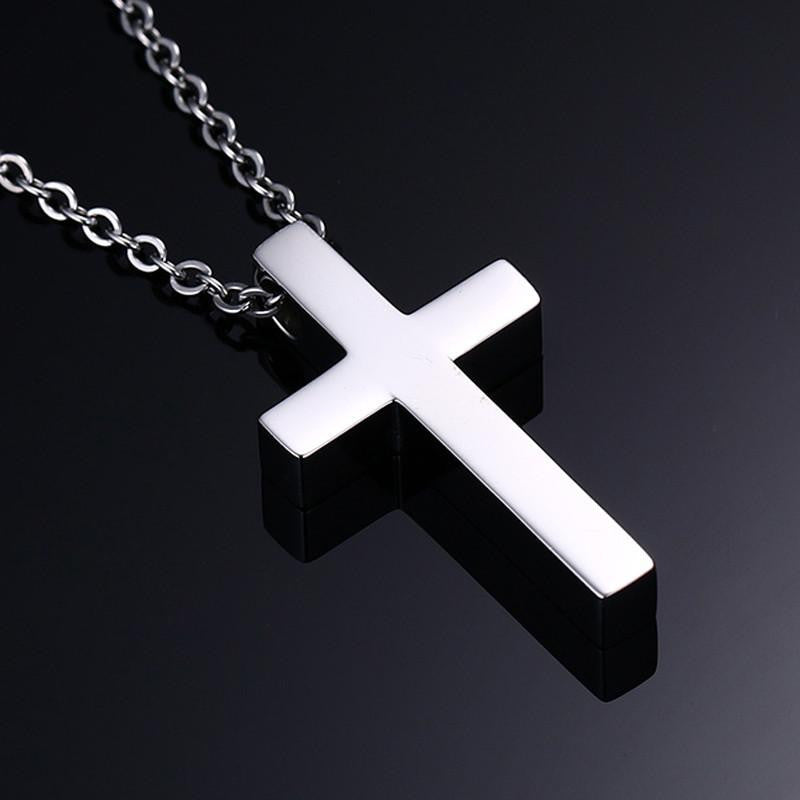 stainless steel pendant necklace cross products the philippians