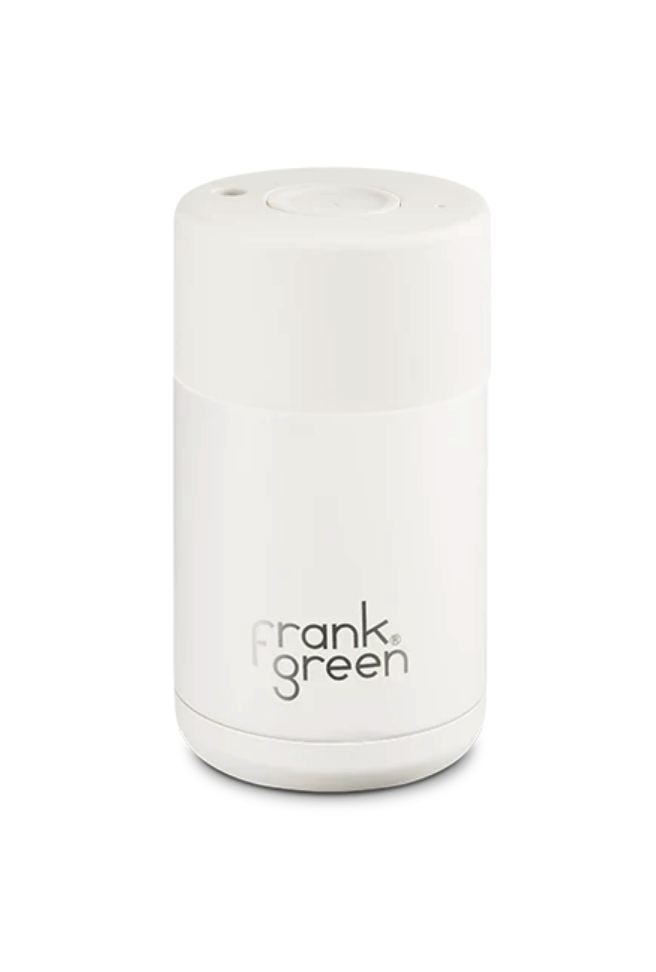 FRANK GREEN 12oz Original Reusable Cup with Push Button Lid