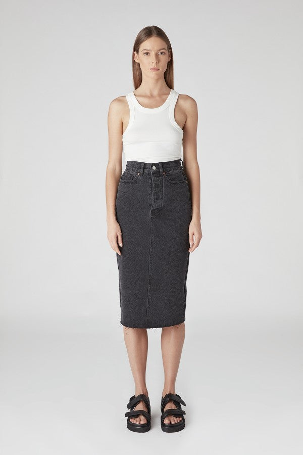 CAMILLA AND MARC PENELOPE SKIRT BLACK GREY