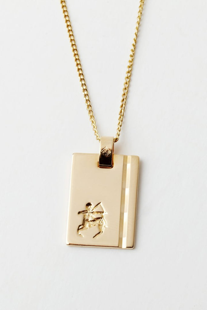 Reliquia Star Sign Necklace GOLD