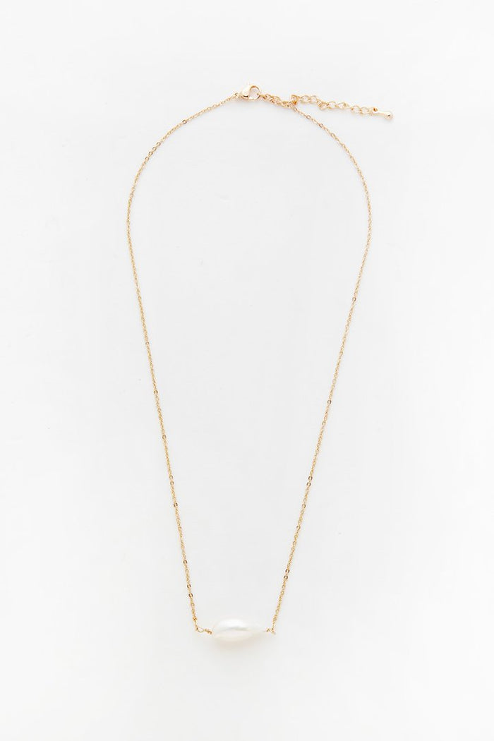RELIQUIA SINGLE KESHI PEARL NECKLACE