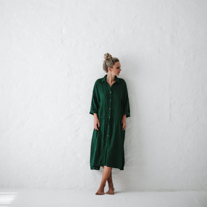 SEASIDE TONEs Oversized Dress GREEN
