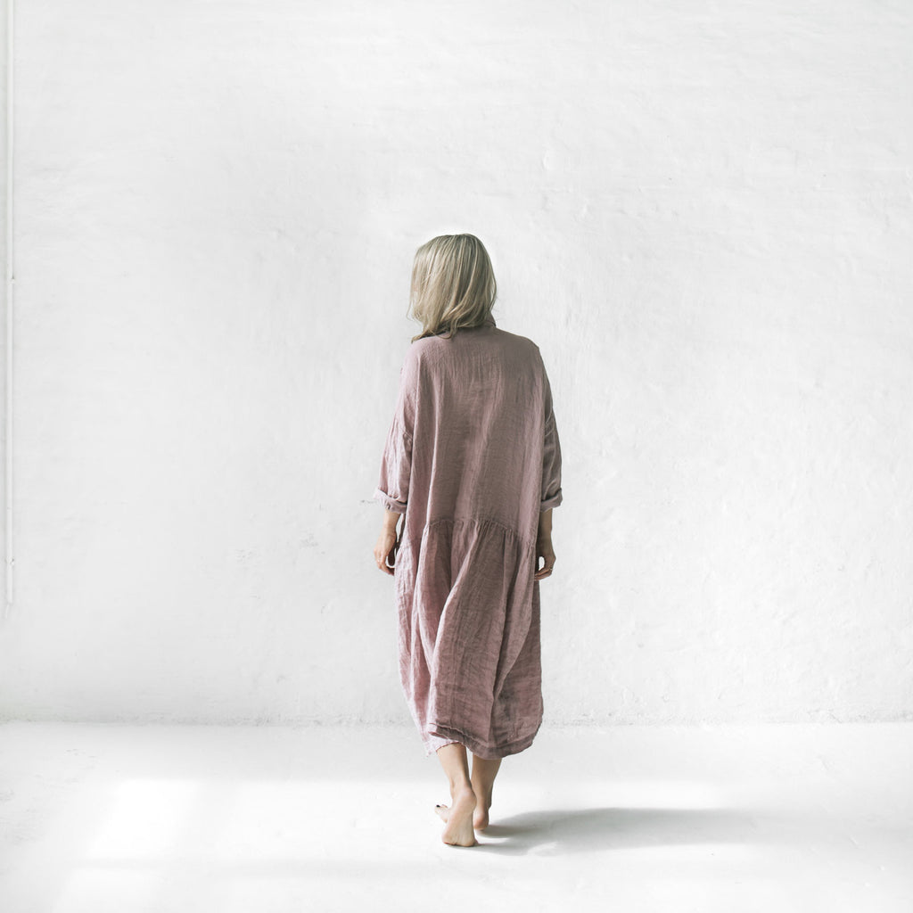 SEASIDE TONES Oversized Dress DUSTY PINK