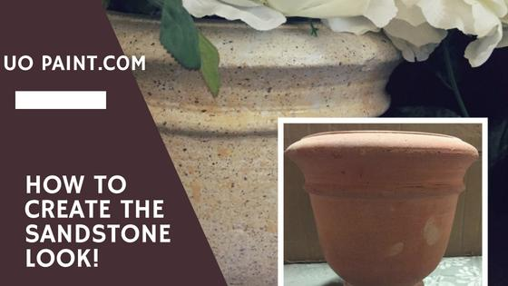 How to Create The Sandstone Look!