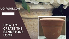 how to create the sandstone look