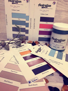 Australian Mineral Paint Colour Cards - Unique Options