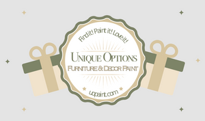 Gift Card - Unique Options