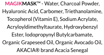 MagikMask Ingredients
