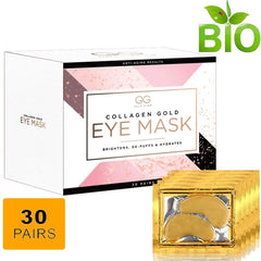 24K Collagen Eye Mask by Gold Glow™