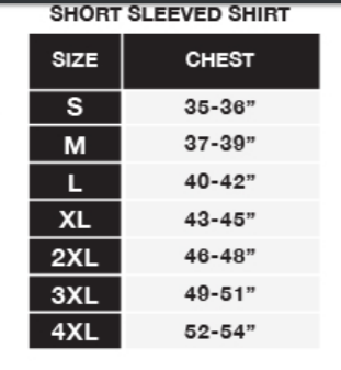 district unisex size chart for flat earth t-shirt