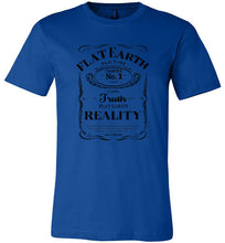Men's Flat Earth Reality Fitted Tee