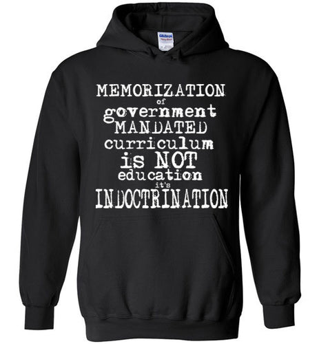 INDOCTRINATION TRUTH flat earth t-shirt hoodie