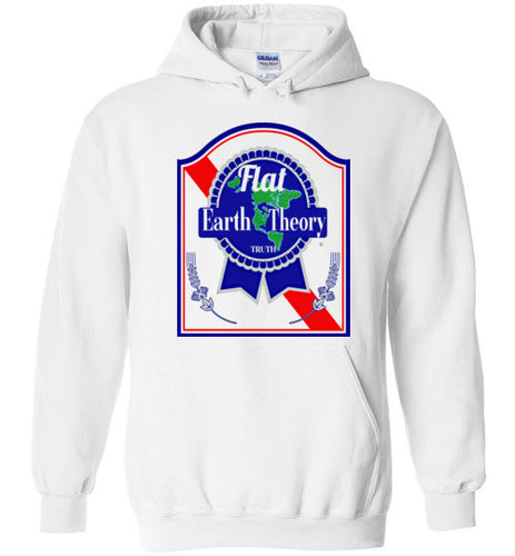 Flat Earth Theory Truth Hoodie light colors