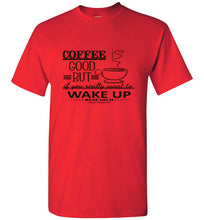 Wake UP Research Flat Earth Value Tee