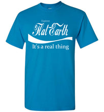 Explore Flat Earth t-shirt