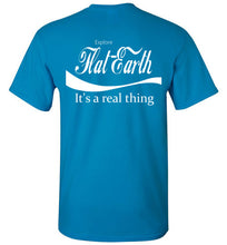 Explore Flat Earth - It's a Real Thing Back Design