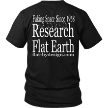 LIARS Research Flat Earth on back