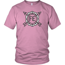 F E Logo Shirt Research Flat Earth Ladies Value T