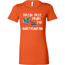 break free from indoctrination flat earth favorite tee