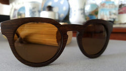 Bamboo, wood retro fashion polarized natural sunglasses