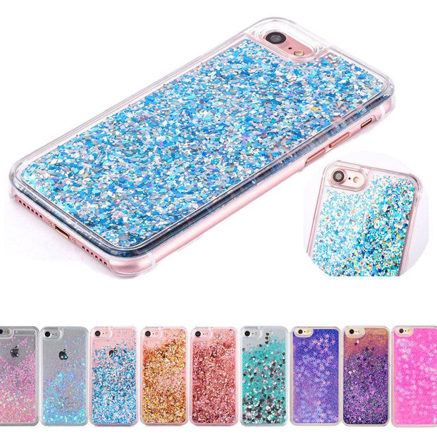 Clear Liquid Glitter Case for IPHONE - Wise Superstore